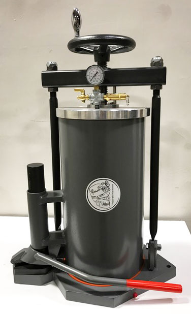 "Pressure Filter w/Barrel Lift, 10""/6 gal"