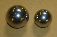 "20 lb. Stainless Steel Ball charge, 1"" & 1-1/4"""