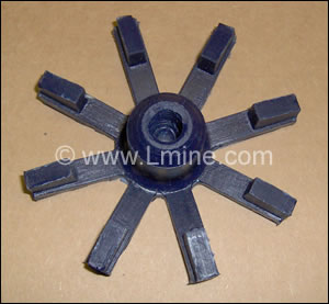 "Impeller - Open 3-3/4"" Dia #17"