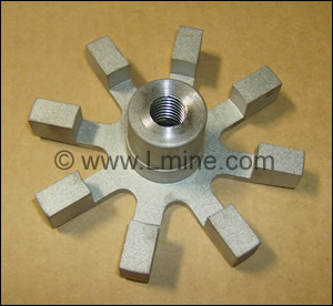 "Stainless Steel Impeller, 3-3/4"" #17"