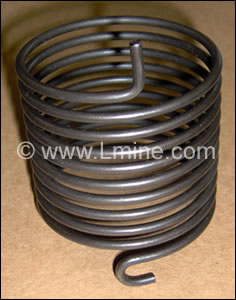 Torsion Spring for D-12 Flotation Cell (# 500377)