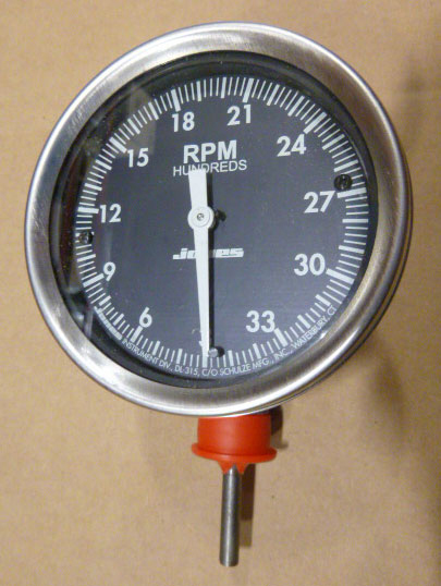 D-12 Tachometer only