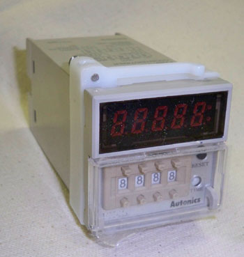Timer module only for VP-1989 Pulverizer, Autonics