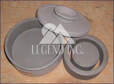 200 ml Grinding Bowl Sets- Alloy 1