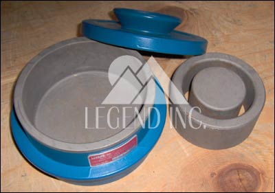 100 ml Grinding Barrel, Alloy 3