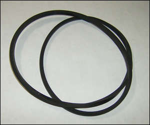 "250 ml Pulverizer lid 8"" O-ring ""Square"""