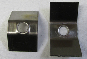 Straight Clamp Contact (Pair) for Model 810 Furnace