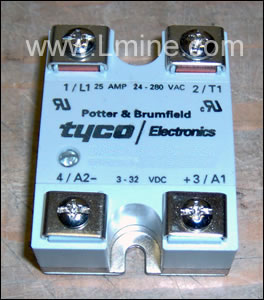 25 amp Solid State Relay (DC)