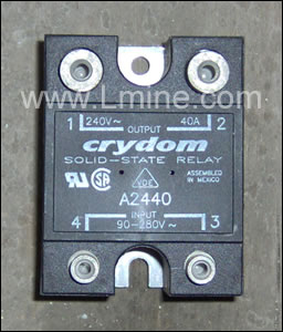 Solid state relay 40 amp