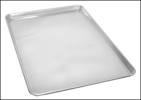 "Solid Drying Oven Pan 18"" x 26"" 18 gauge ( 3004 Aluminum Alloy )"