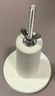 "Ceramic Anchor 3"" (Complete Assembly - 8) for 50PF"