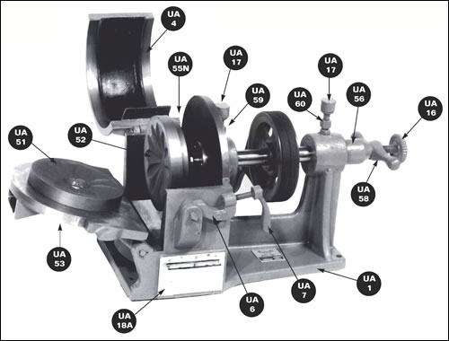 Plate Pulverizer Parts