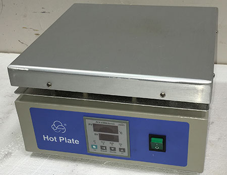 "12"" X 12"" Heavy Duty Hotplate Digital (220v/50-60hz)"