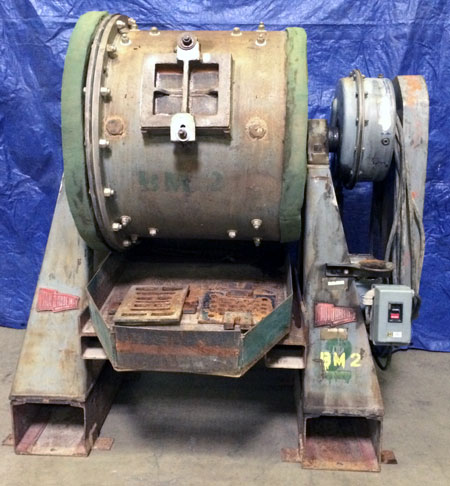"Used Paul O Abbe Batch Ball Mill 24""x30"""