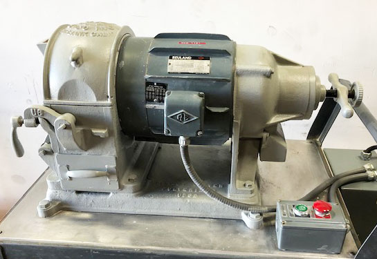 Used Bico UD Pulverizer w/motor, guard 3hp/3ph