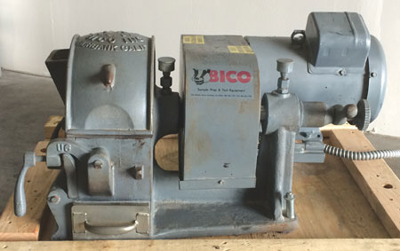 Used BICO UA Pulverizer w/3hp-1ph