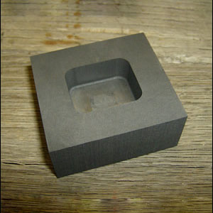 Small Graphite Gold Molds